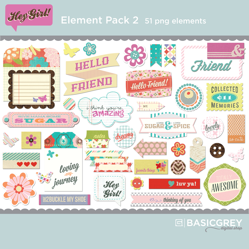 Hey Girl Element Pack 2