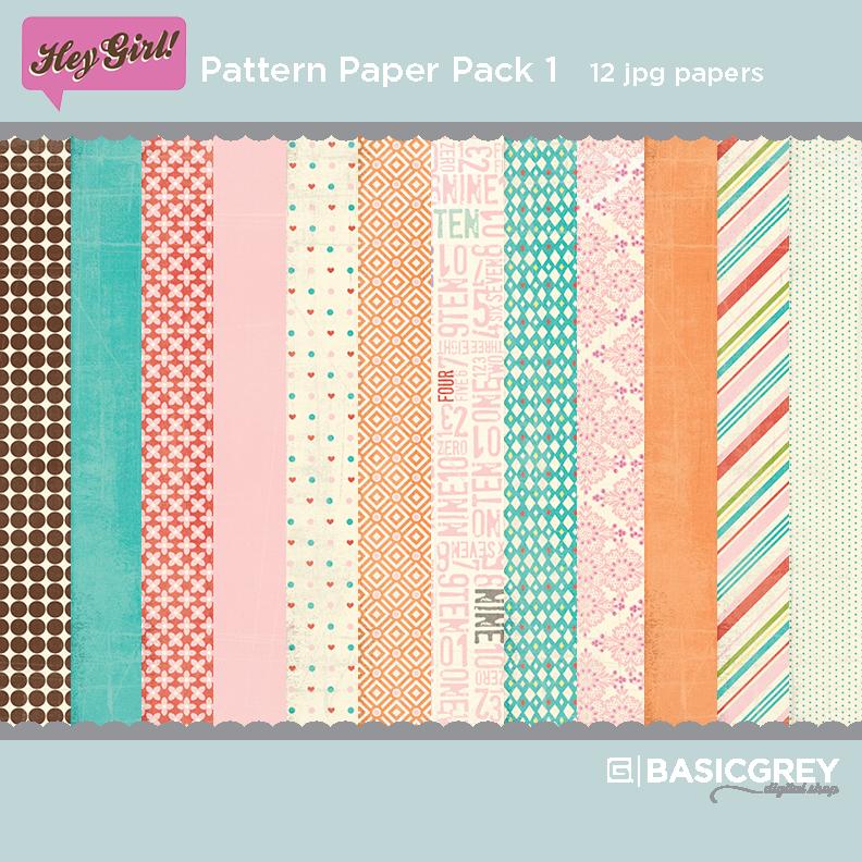 Hey Girl Paper Pack 1