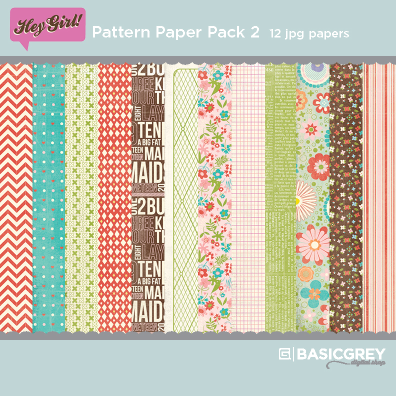 Hey Girl Paper Pack 2