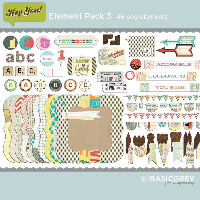 Hey You Element Pack 3