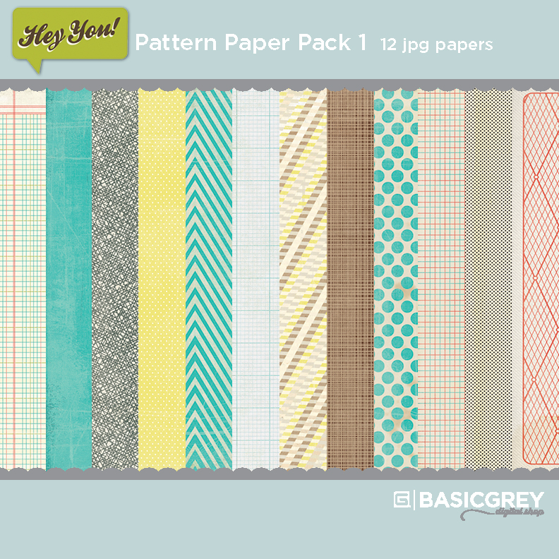 Hey You Paper Pack 1