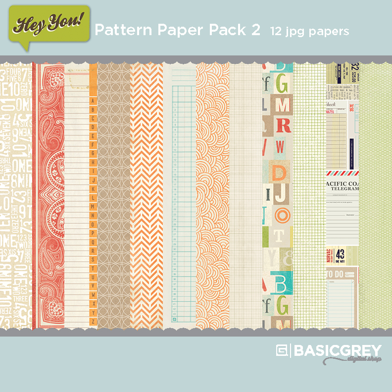 Hey You Paper Pack 2