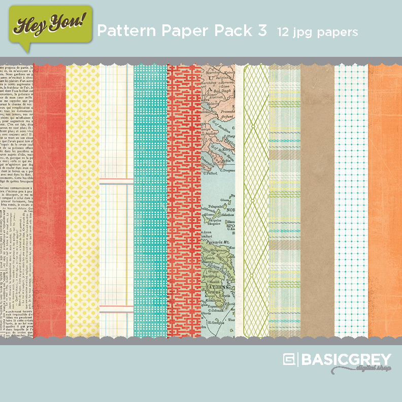 Hey You Paper Pack 3