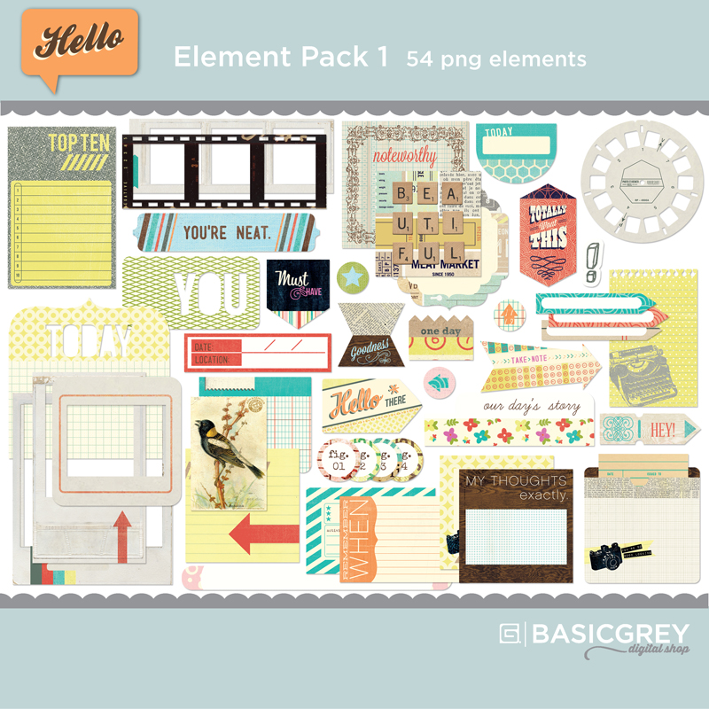 Hello Element Pack 1