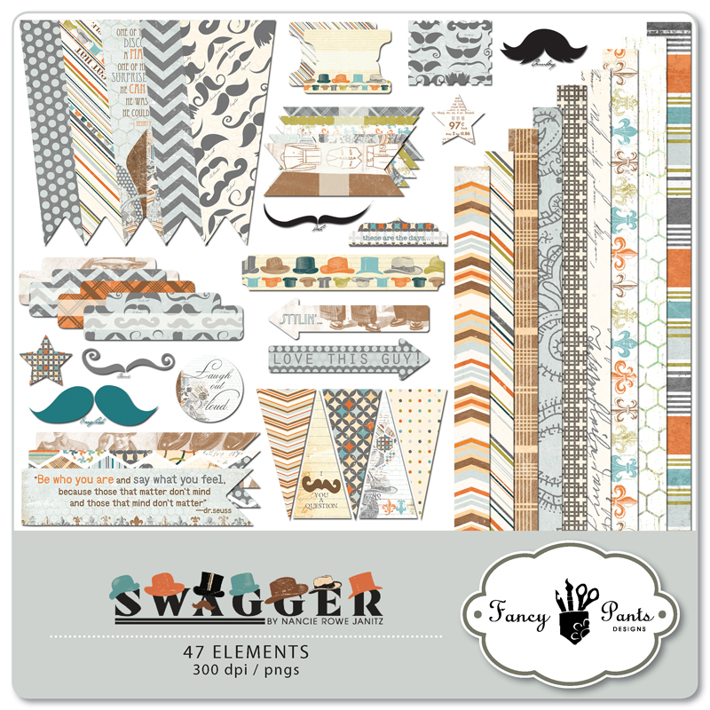Swagger Embellishment Pack 1
