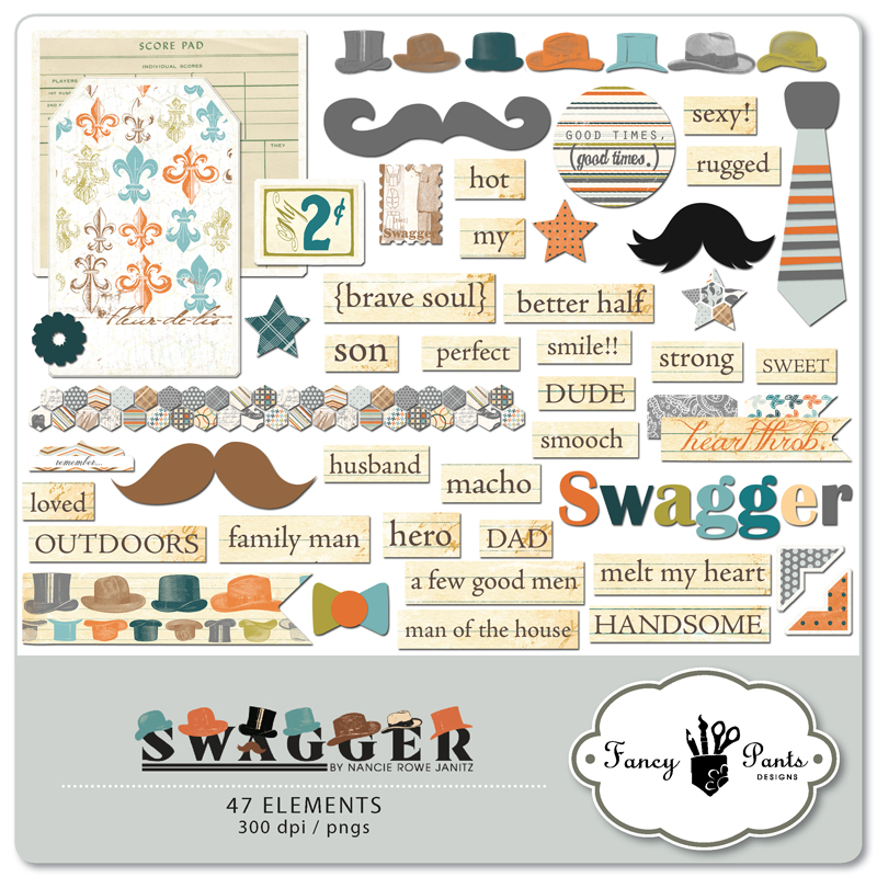 Swagger Embellishment Pack 2