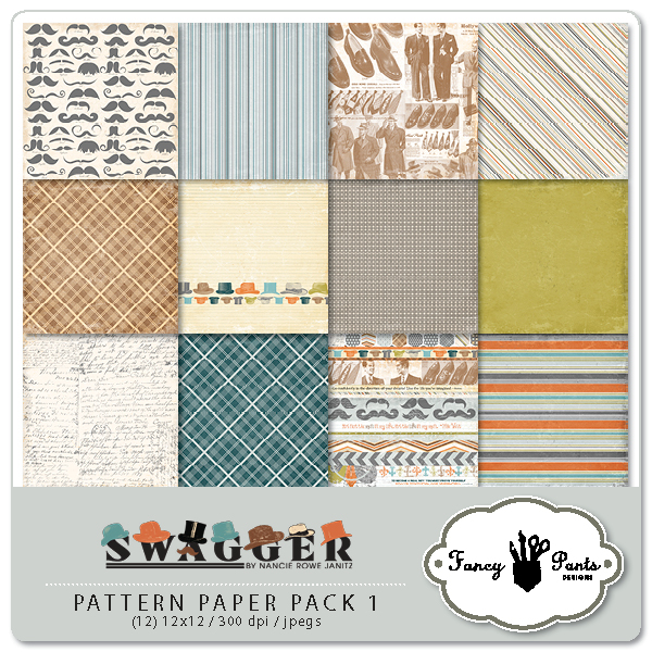 Swagger Paper Pack 1