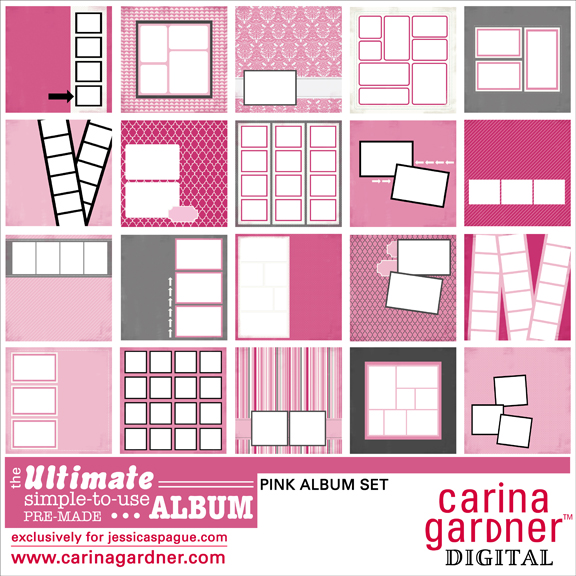 THE ULTIMATE ALBUM Pink Set