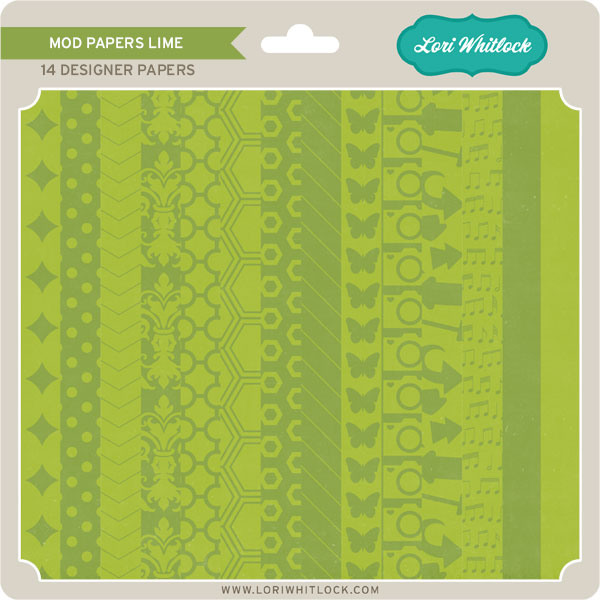 Mod Papers Lime
