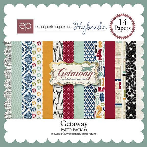 Getaway Paper Pack 1