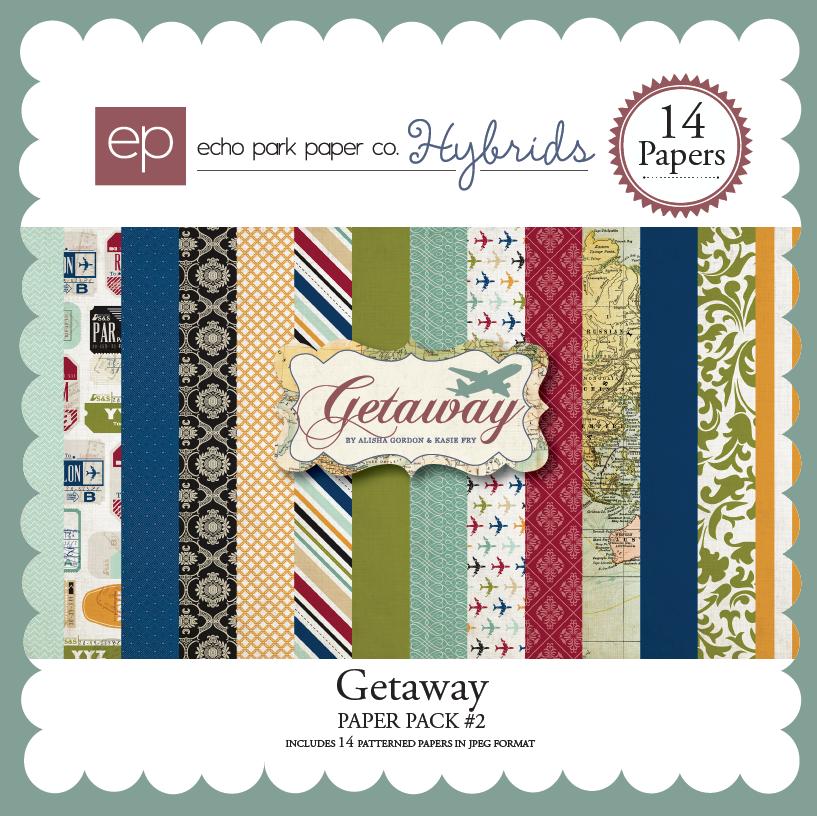 Getaway Paper Pack 2