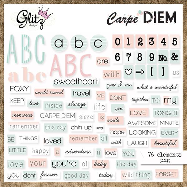 Carpe Diem Element Pack 1