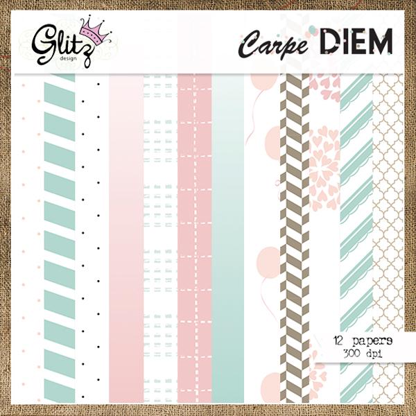 Carpe Diem Paper Pack 1