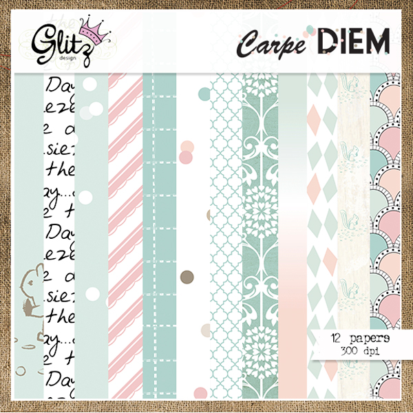 Carpe Diem Paper Pack 2