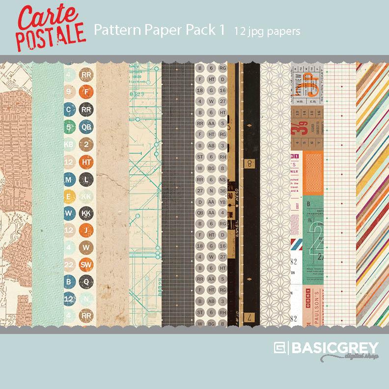 Carte Postale Paper Pack 1