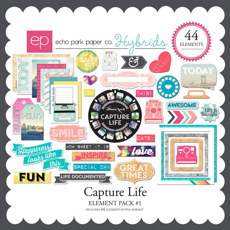Capture Life Element Pack #1