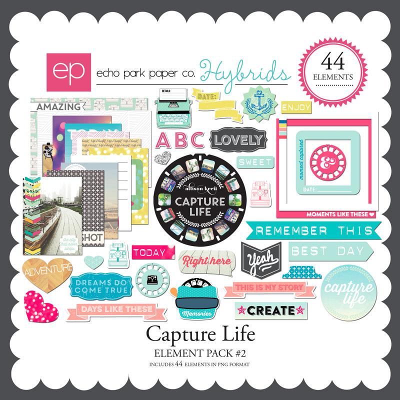 Capture Life Element Pack #2