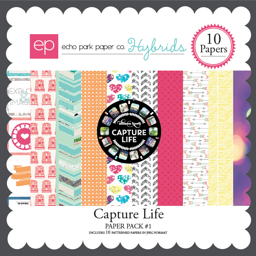Capture Life Paper Pack #1