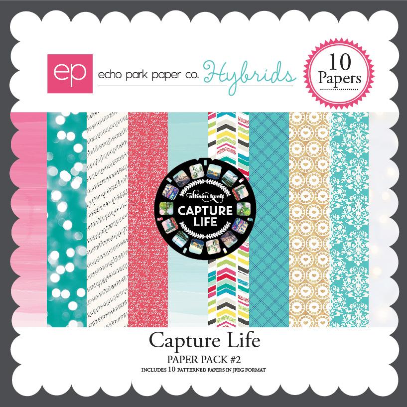 Capture Life Paper Pack #2