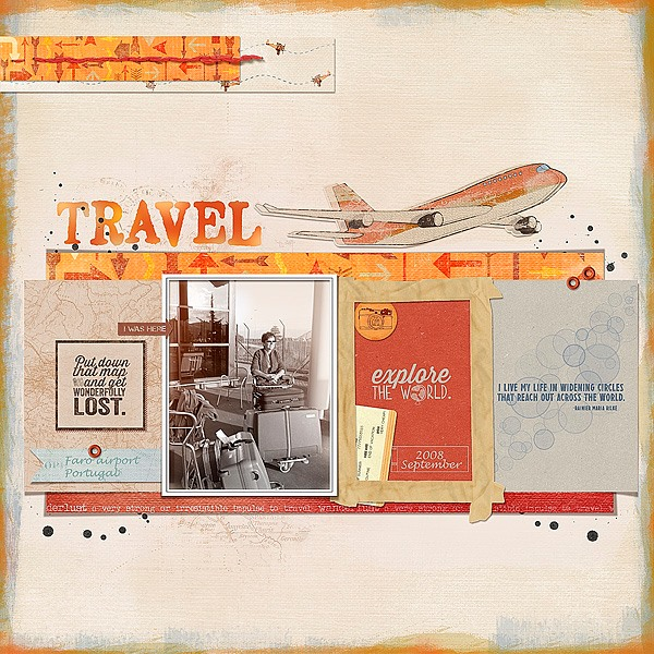 This awesome layout was created by Marianne van Arnhem!