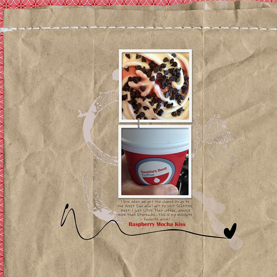 This awesome layout was created by Reneé Dezember.