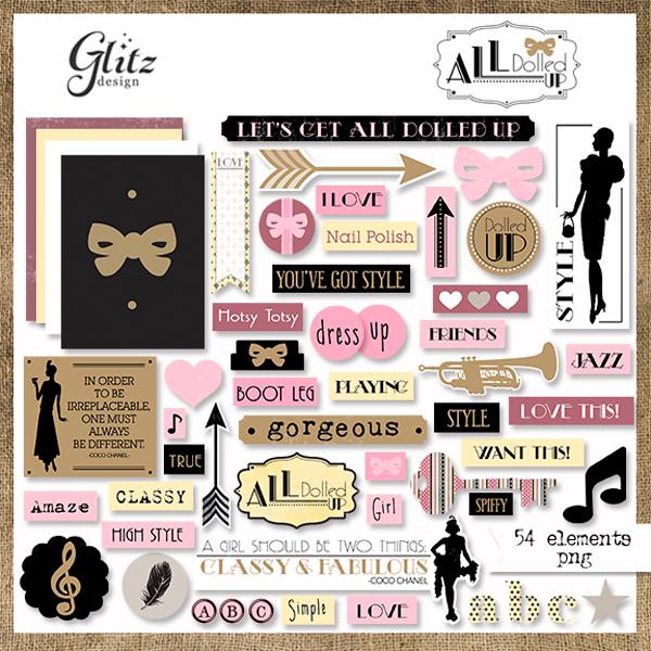 All Dolled Up Element Pack 2