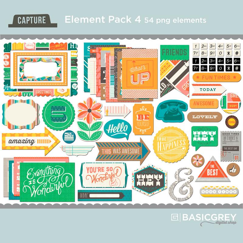 Capture Element Pack 4
