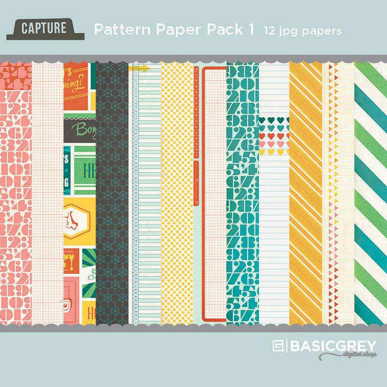 Capture Paper Pack #1
