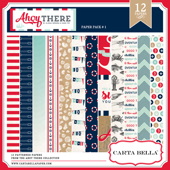 Ahoy There Paper Pack 1