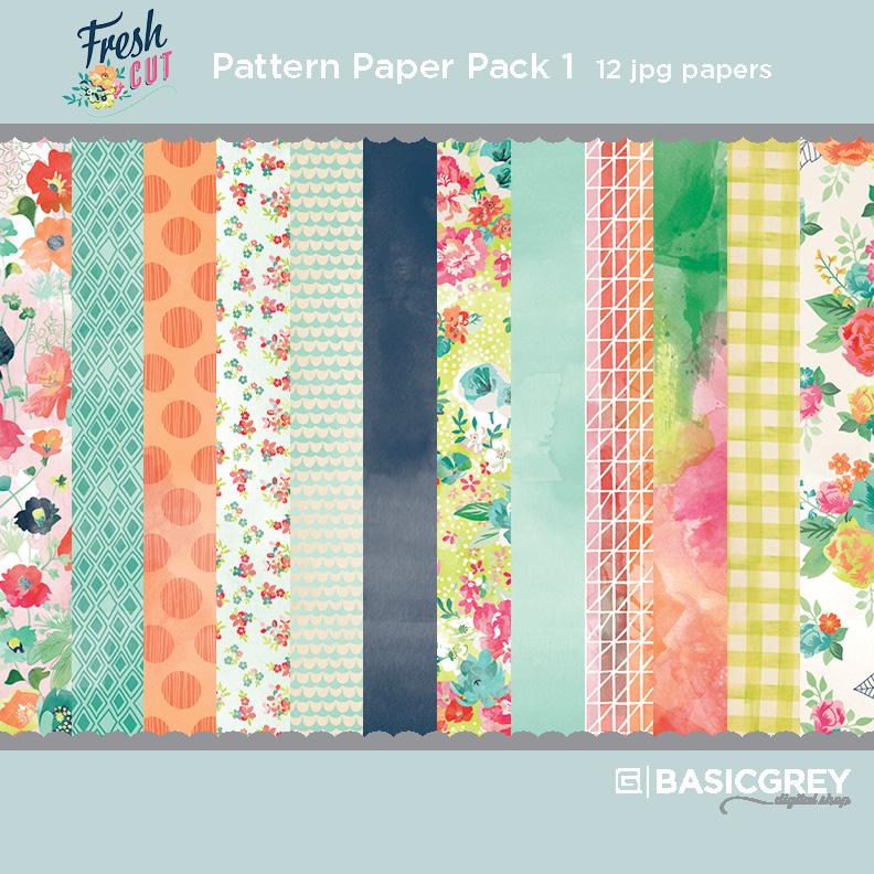 Fresh Cut Paper Pack 1