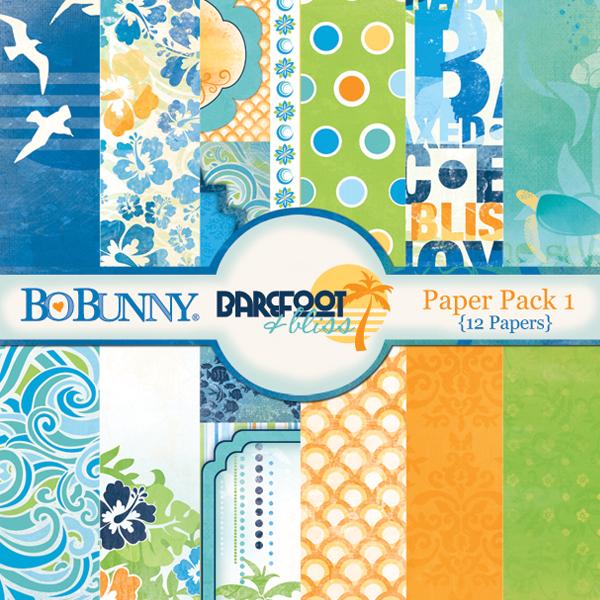 Barefoot & Bliss Paper Pack 1