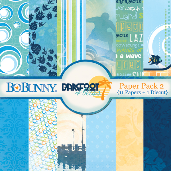 Barefoot & Bliss Paper Pack 2