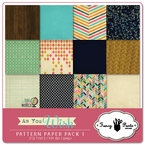 As You Wish Paper Pack #1