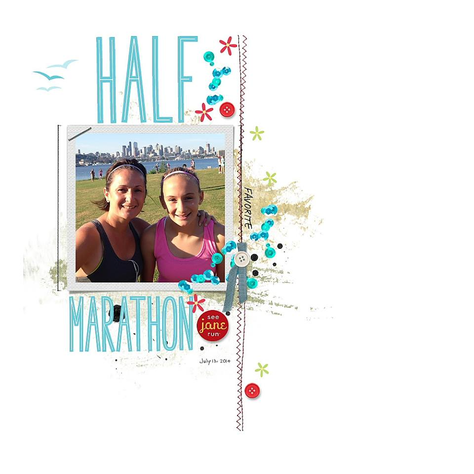 This awesome layout was created by Reneé Dezember