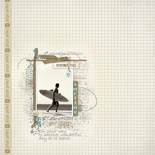 This awesome layout was created by Marianne van Arnhem