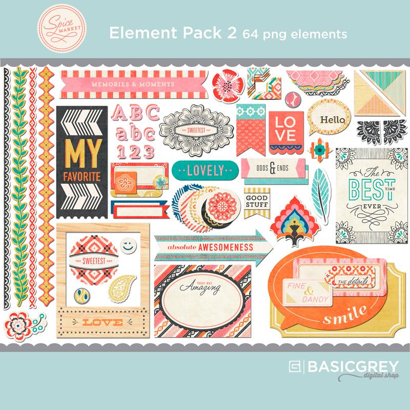 Spice Market Element Pack 2