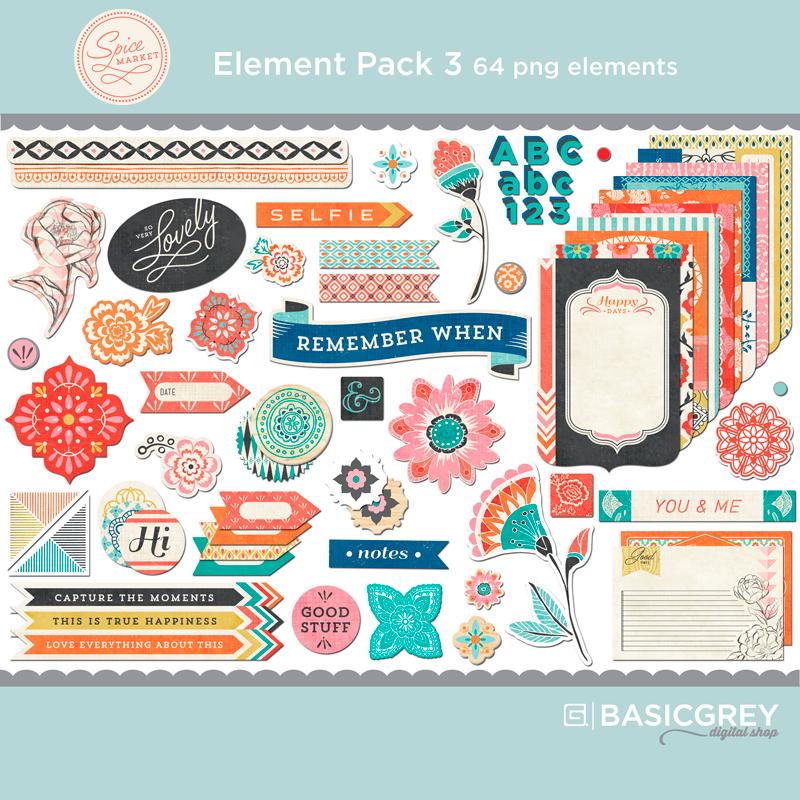 Spice Market Element Pack 3