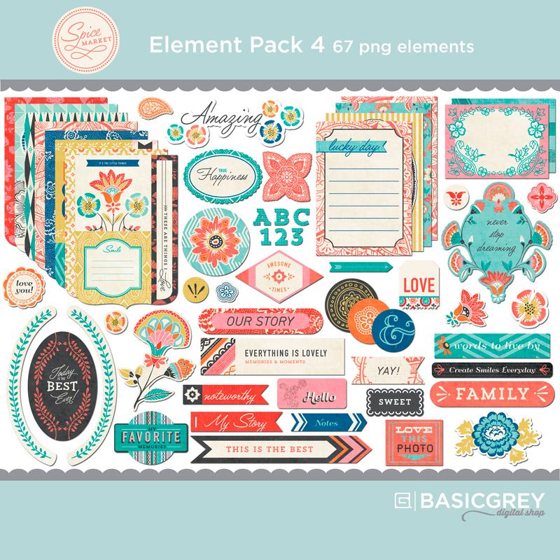Spice Market Element Pack 4