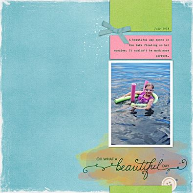 This awesome layout was created by Lisa Breuer
