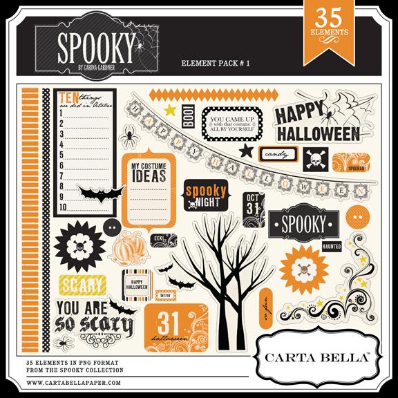 Spooky Element Set 1
