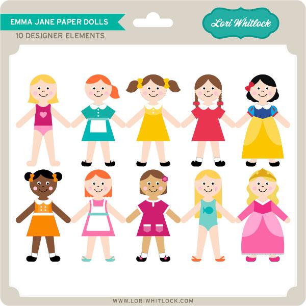 Emma Jane Paper Dolls