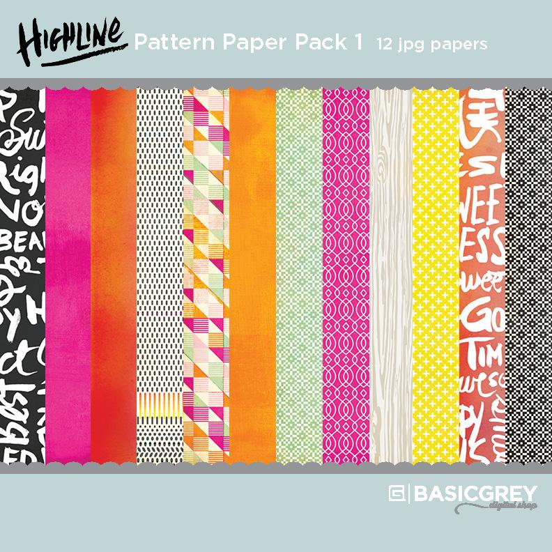 Highline Paper Pack 1