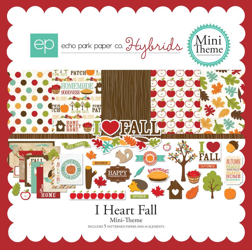 I Heart Fall Mini-Theme