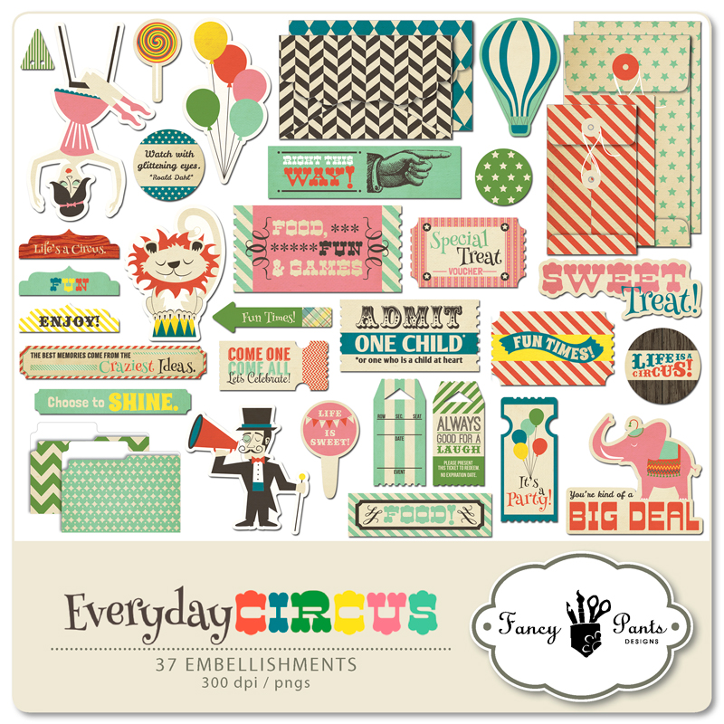 Everyday Circus Element Pack #1