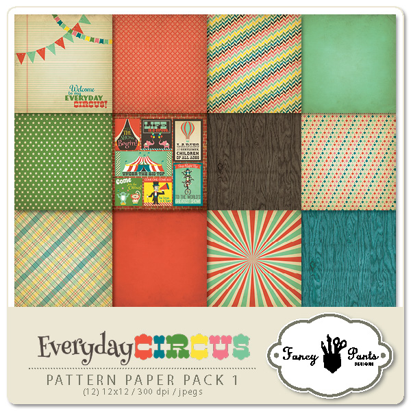 Everyday Circus Paper Pack #1