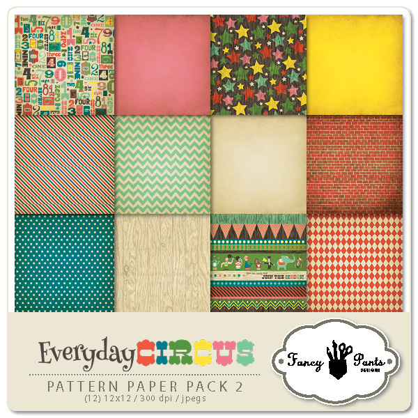 Everyday Circus Paper Pack #2