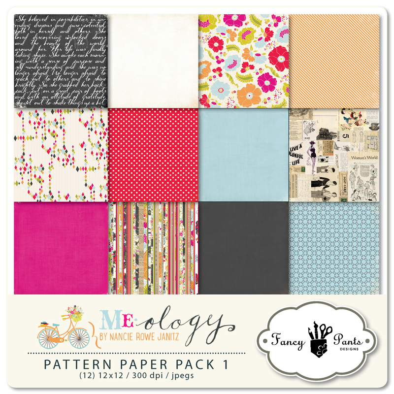 Me-ology Paper Pack #1