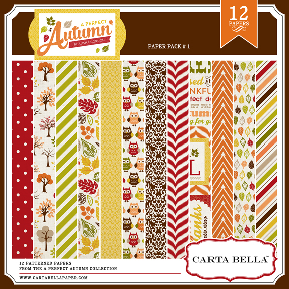 A Perfect Autumn Paper Pack
