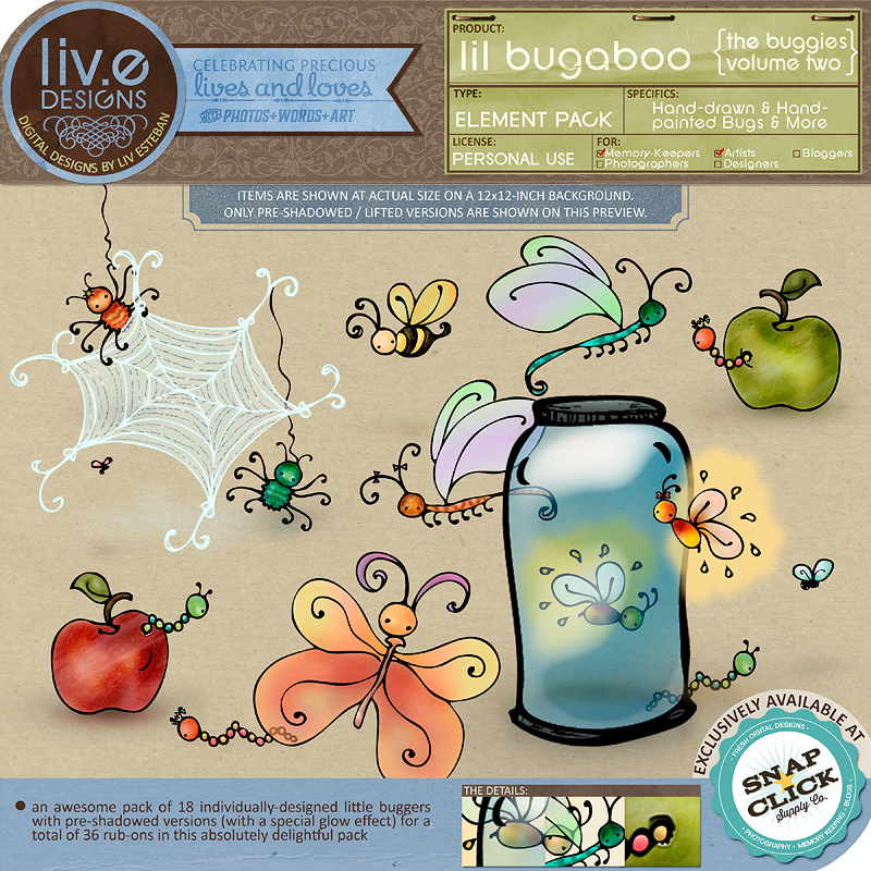 liv.edesigns Lil Bugaboo - The Buggies Vol.2