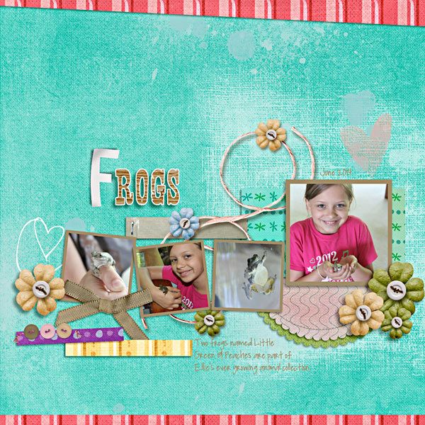 This awesome layout was created by Lisa Breuer!
